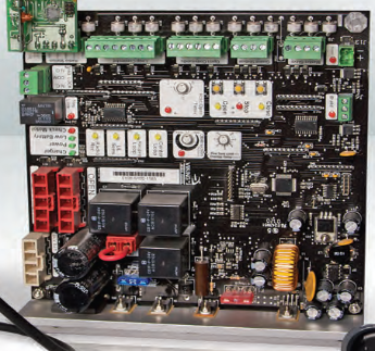 Can you find what gate opener issue you will have with this board in your All-O-Matic operator?
