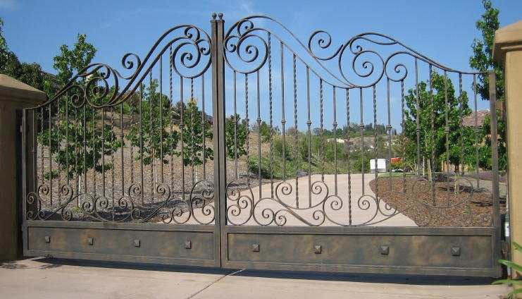aaa gate installation san diego iron gates 024
