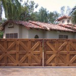 aaa gate installation san diego wood iron gates 001