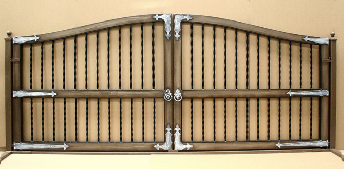 Tuscan Styled Gate Designs
