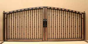 aaa gate installation san diego wood iron gates 005