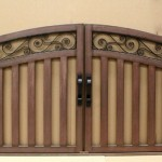 aaa gate installation san diego wood iron gates 006