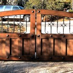 aaa gate installation san diego wood iron gates 007